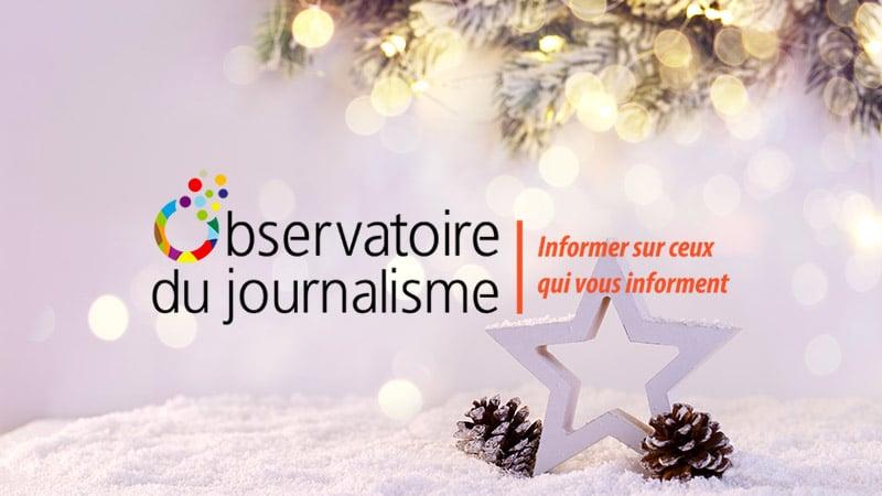 Fêtez Noël avec l'Observatoire du journalisme !