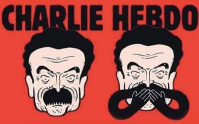 Les racines du Mâle ! Érection de moustache en Une de Charlie Hebdo!
