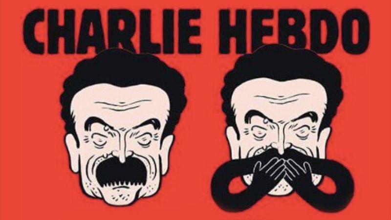 Les racines du Mâle ! Érection de moustache en Une de Charlie Hebdo !