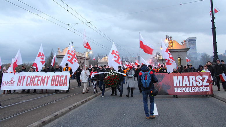 Pologne, novembre 2017 : deux semaines de désinformation intensive