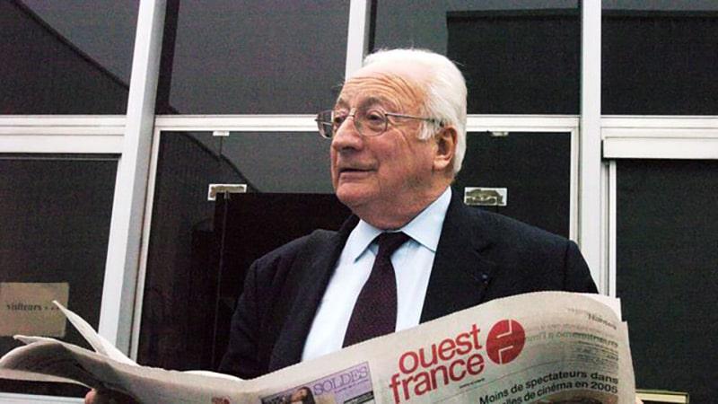 François-Régis Hutin, l'emblématique patron de Ouest-France, s'est éteint