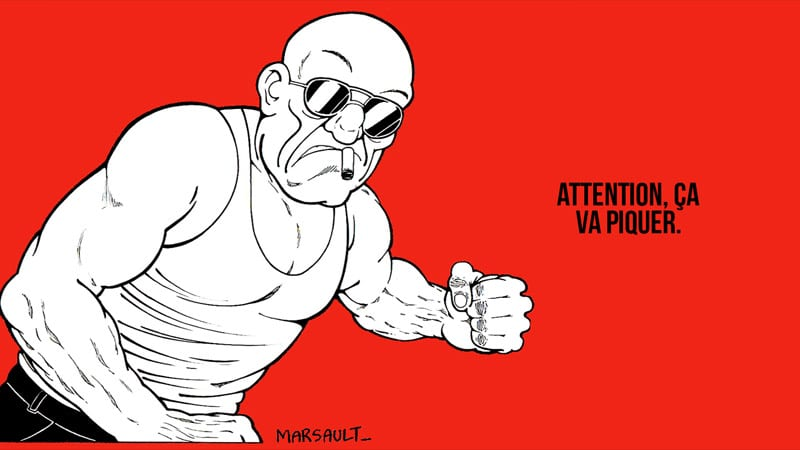 Le dessinateur Marsault censuré par Facebook