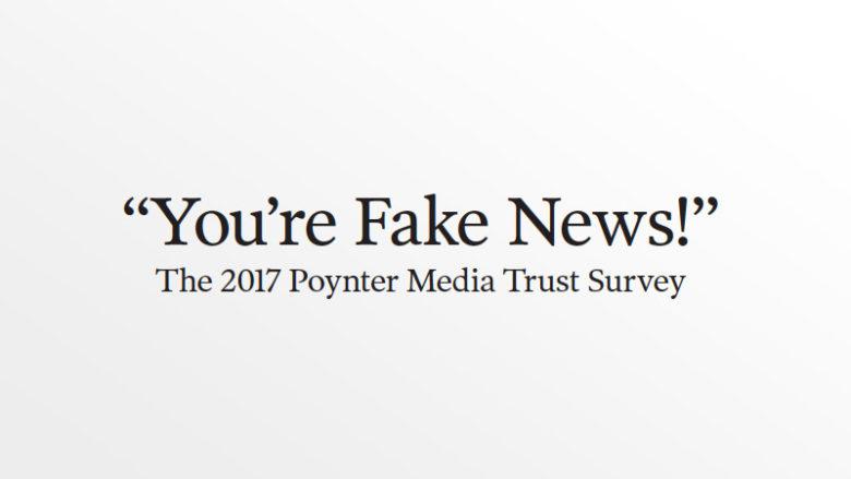 Perte de confiance dans les médias : aux États-Unis aussi