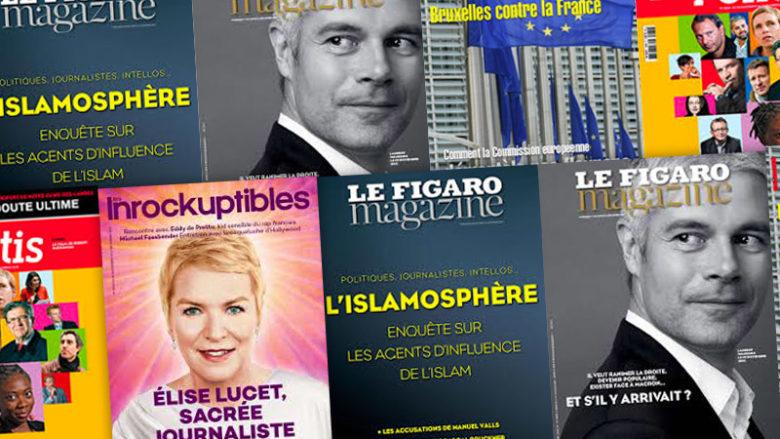Hebdomadaires et mensuels ? Que lit-on à la Une des magazines ?