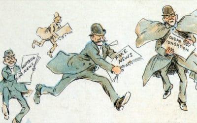 Fake news : « Les grands médias ont toujours été les premiers à relayer les mensonges d'État », selon Alain de Benoist