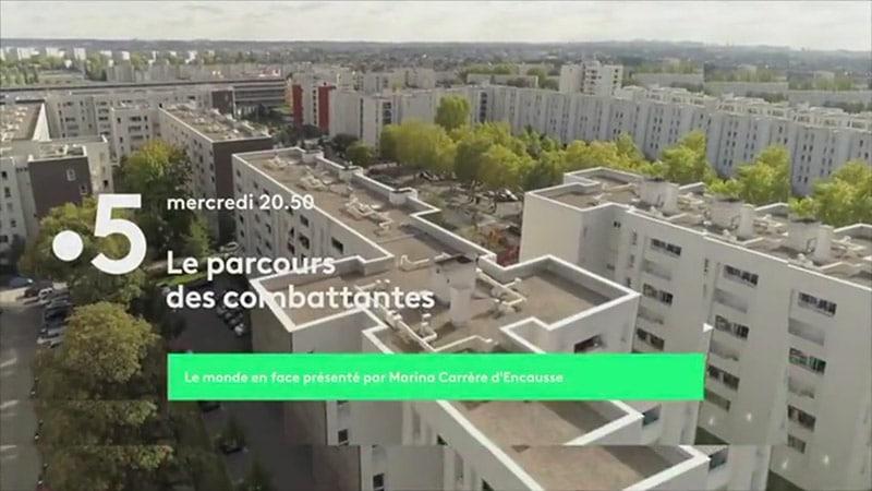 France 5, Le Parcours des combattantes d'Olivier Delacroix : plus belle la banlieue