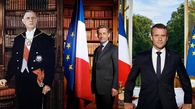 L'image est un média, une analyse spectrale des images des Présidents de la République