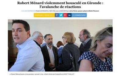 Silence, on frappe Ménard : réactions des médias après l'agression du maire de Béziers