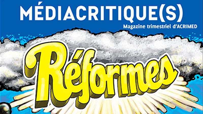 Médiacritiques d'Acrimed publie son numéro 27