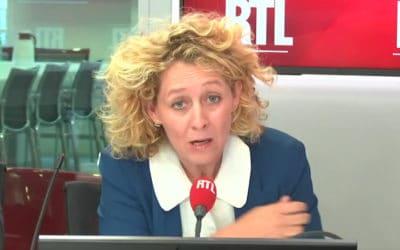 Alba Ventura, pour une fois politique militante surRTL?