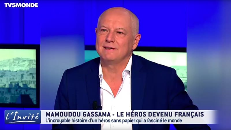 La figure du crétin, Patrick Simonin et TV5