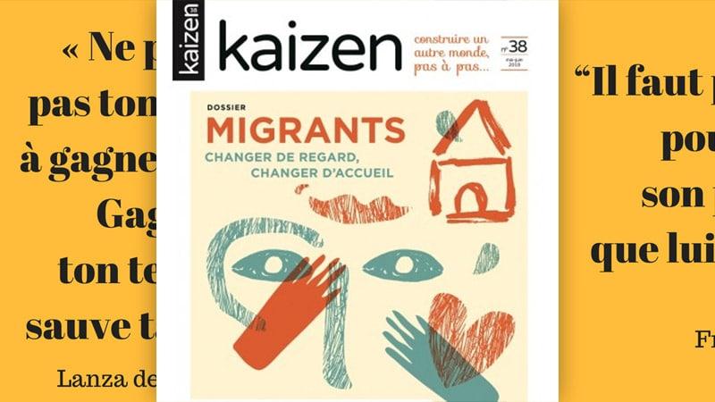 Kaizen, magazine en forme de tract politique