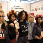 Mars 2015, à la présentation du livre-manifeste des Femen.