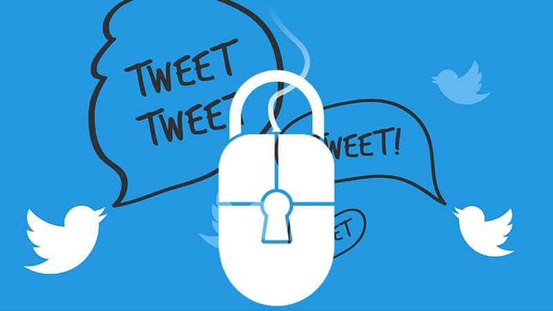 Twitter : à l'ouest, toujours plus de censure