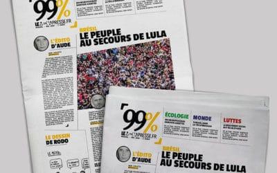 Le Média sort le mensuel 99% dans un contexte de forte crise interne