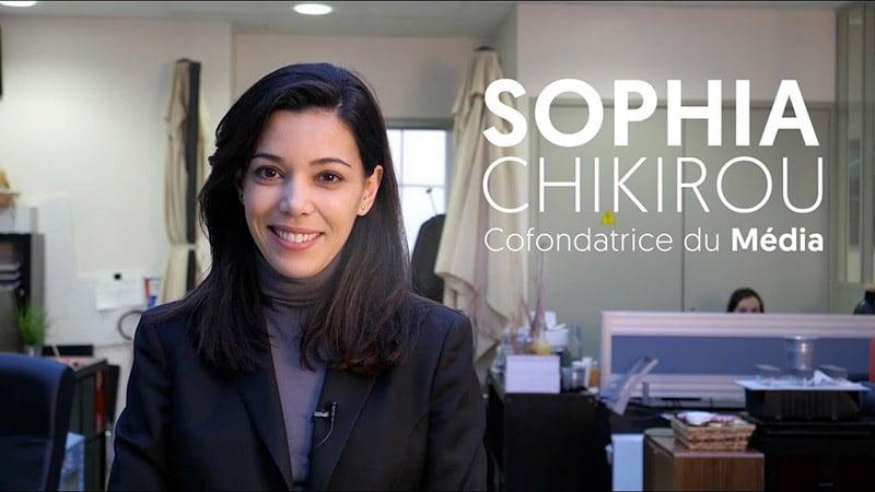 Sophia Chirikou quitte Le Média pour y revenir plus tard