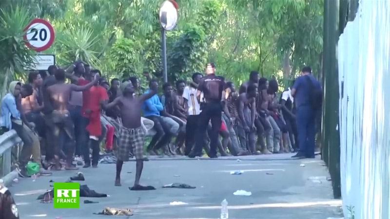 Frontière forcée à Ceuta : des violences en mode light dans les médias français