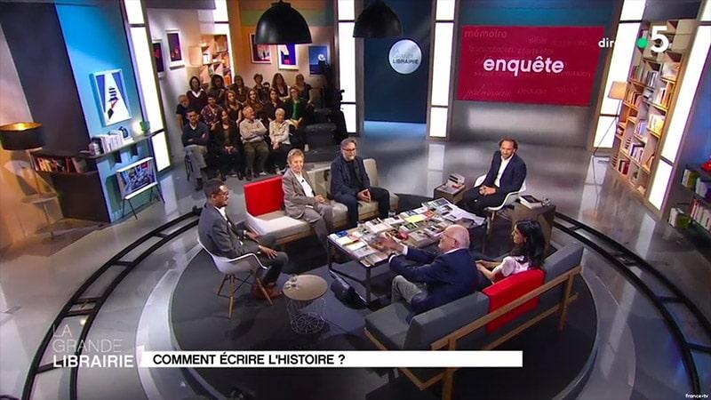 La Grande Librairie de François Busnel reconstruit l'Histoire de France