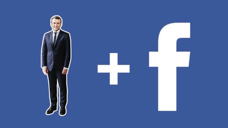 Macron et Facebook s'allient contre la liberté d'expression