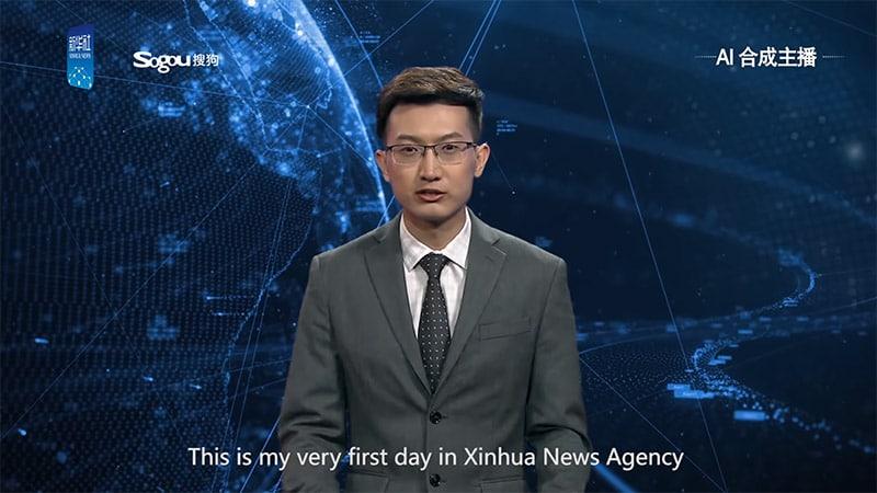 Grand remplacement des journalistes, votre présentateur de télévision est maintenant virtuel