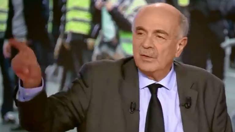 Michel Vieworka sur Canal+ : les gilets jaunes brandissent un A entouré d'un cercle, ils sont bien d'extrême droite
