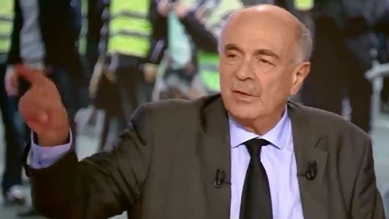 Michel Wieviorka sur Canal+ : les gilets jaunes brandissent un A entouré d'un cercle, ils sont bien d'extrême droite