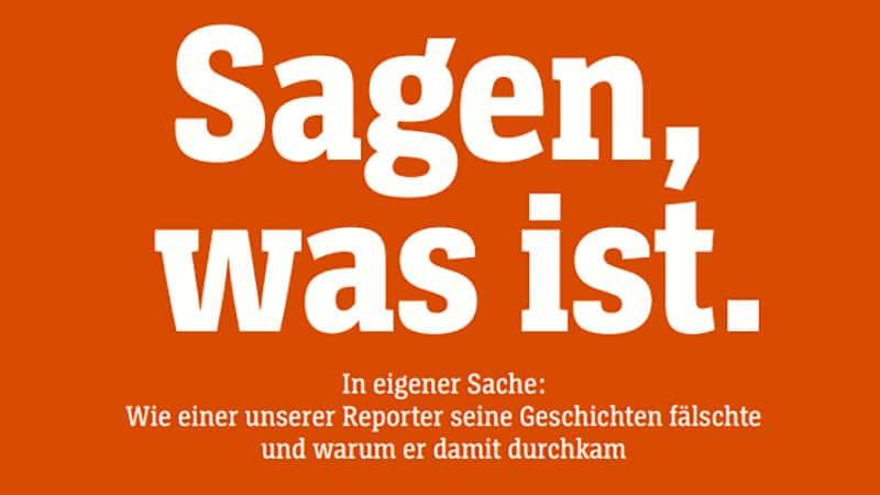 Infox/fake news : les grands médias premiers responsables, l'exemple du Spiegel