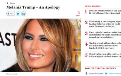 Infox/Fake news : après Der Spiegel, le Telegraph fait son meaculpa