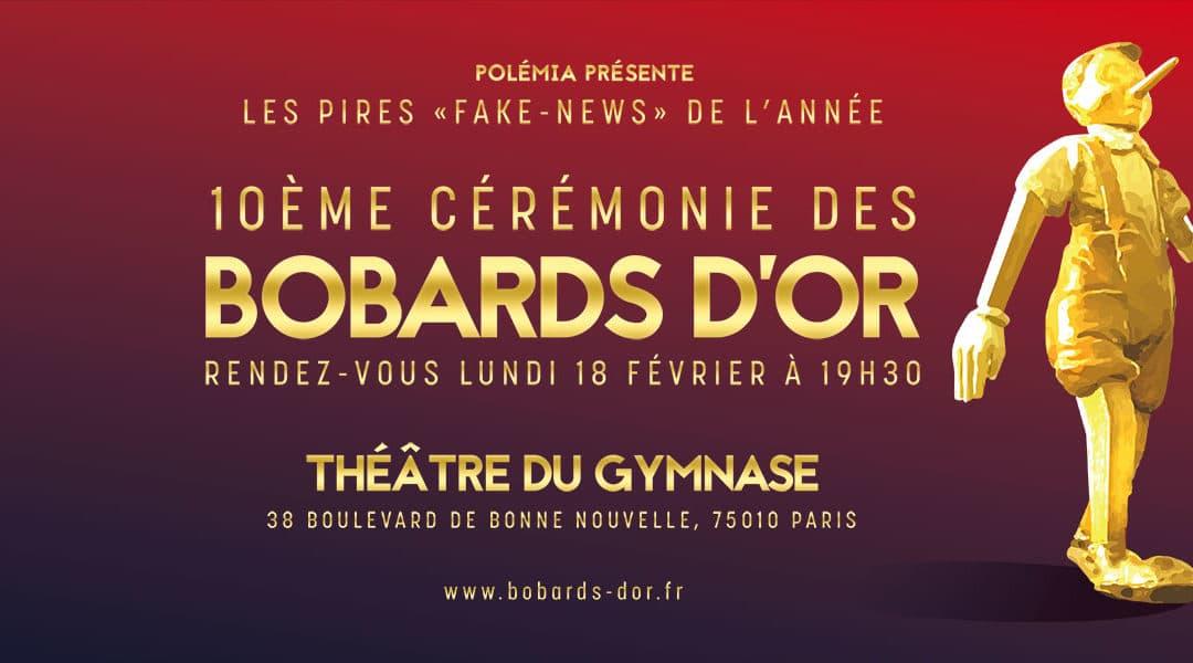 Les dixièmes Bobards d'Or le 18 février 2019 à Paris