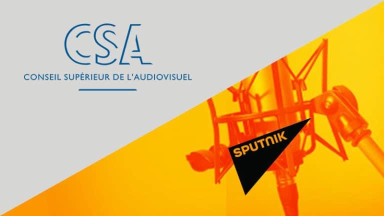 Le CSA à la poursuite de Sputnik