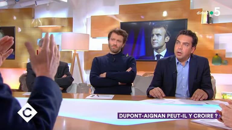Nicolas Dupont-Aignan : Patrick Cohen cireur de pompes du pouvoir