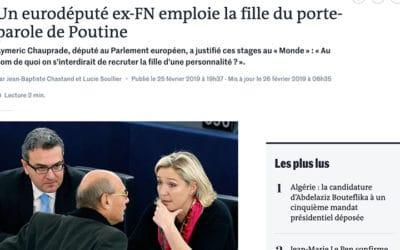 Manipulation par l'image, quand Le Monde s'y met