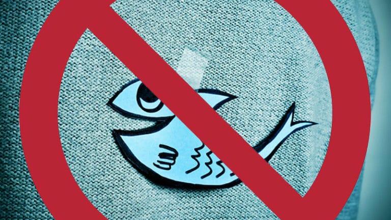 Le Monde à la chasse au poisson d'avril