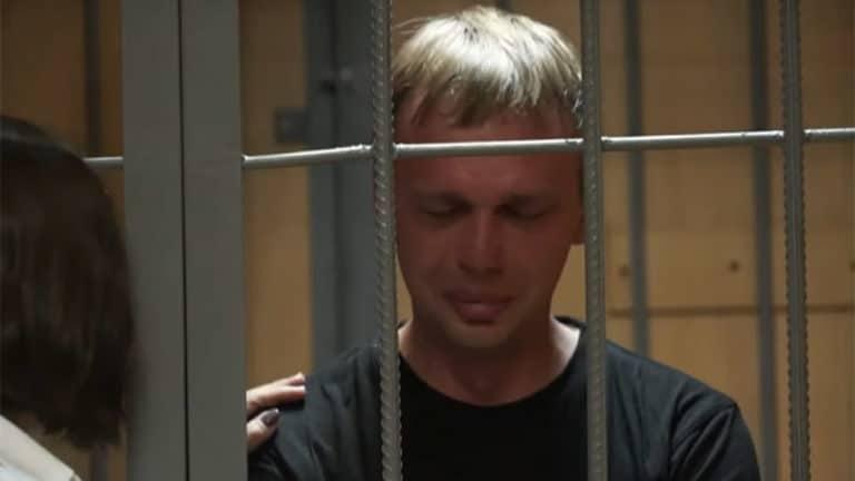 Ivan Golounov, journaliste russe, emprisonné et libéré illico
