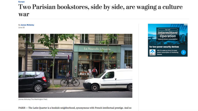 Quand le Washington Post de Jeff Bezos (Amazon) s'attaque à La Nouvelle Librairie