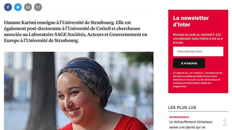 Vous reprendrez bien un peu de «féminisme islamiste» sur France Inter ?