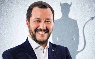 Notre jeu de l'été : analyse d'une dépêche AFP #2, le diable de Salvini