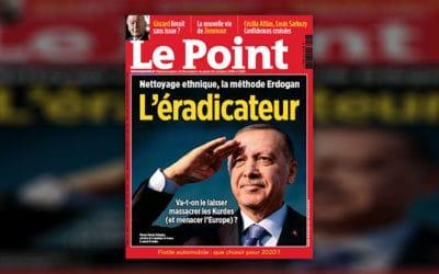 Erdogan l'éradicateur, Le Point ne lâcherien
