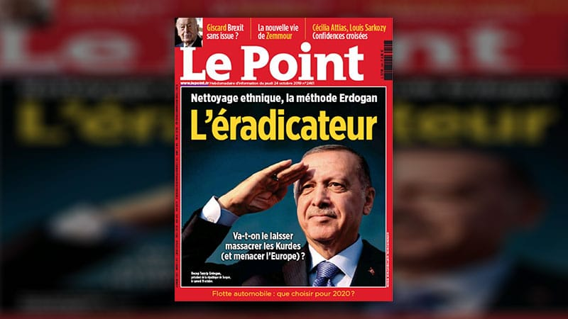 Erdogan l'éradicateur, Le Point ne lâche rien