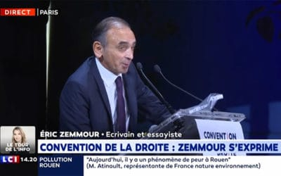 Discours de Zemmour sur LCI pour la Convention de la droite : les censeurs lancent l'offensive