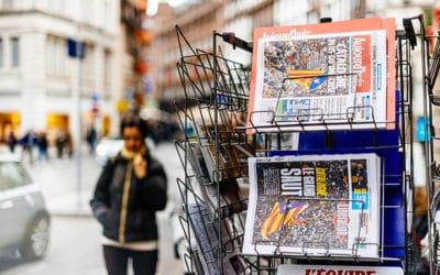 La dure vie d'un marchand de presse