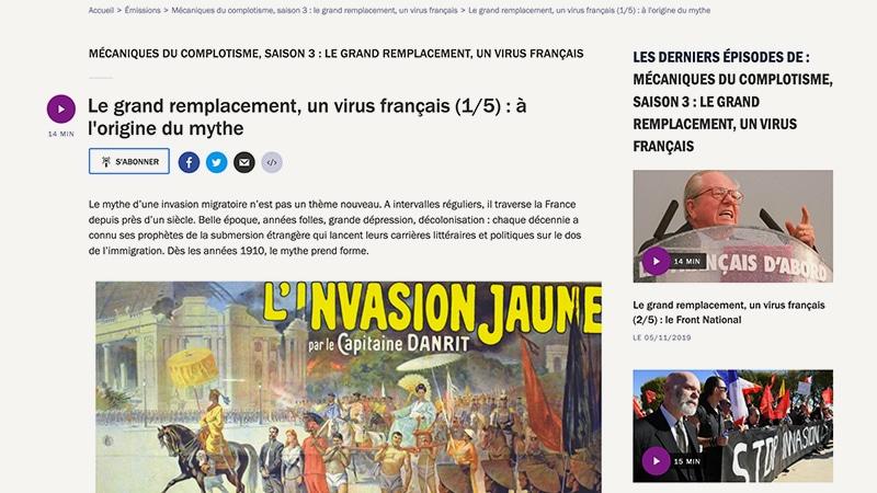 France Culture en quête de complots. Épisode 1