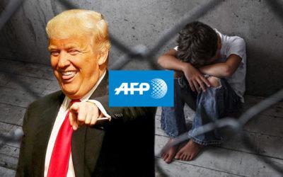 L'AFP voit cent mille enfants détenus sous Trump, avec 4 ans de retard