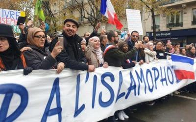Marche contre l'islamophobie: une si belle manifestation. Revue de presse
