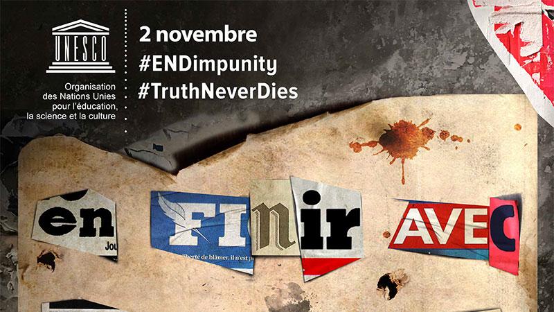 Les meurtres de journalistes continuent à être nombreux dans le monde, selon l'UNESCO