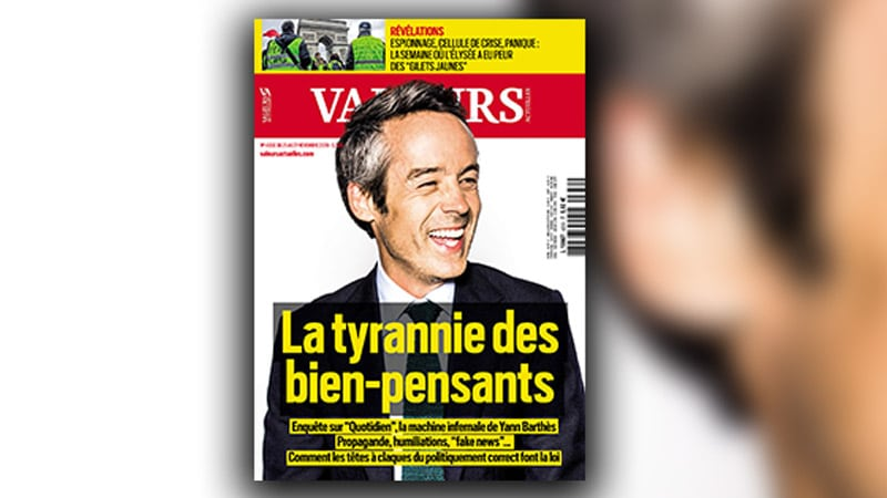 Quotidien et Yann Barthès dans le rôle du truand ?