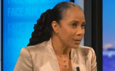 Christine Kelly, présentatrice de l'émission de Zemmour, menacée de mort