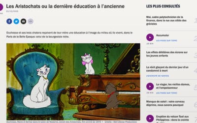 France Culture n'aime pas les Aristochats