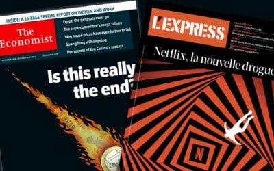 Le nouvel Express, un copier-coller de The Economist