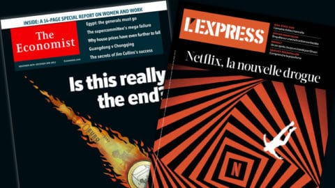Le nouvel Express, un copier-coller de The Economist